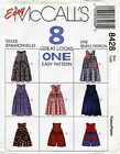 Mccalls 8428 Girls Jumper  Romper Sewing Pattern 8 Styles