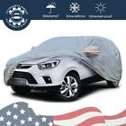 Large Waterproof Full Car Cover W Mirror Pockets Universal Off Road Suv Storage