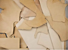 Full Veg Tan Vegetable Tanned Cow Leather Scraps Mixed Weight 45 67 89 Oz