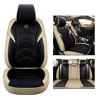 Front Rear Pu Leather Car Seat Covers Accessories Fit For Ford Escape Edge Flex