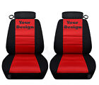 Front Seat Covers For A 1994 To 2004 Ford Mustang Your Customized Design