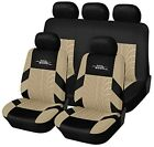 Autoyouth Car Seat Protective Cover Tire Tracks Car Seat Accessories