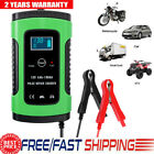 12v Car Battery Charger Auto Jump Starter Power Bank Booster Maintainer Portable