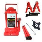 Hydraulic Bottle Jack Scissor Jack Jack Stand Hoist Lift Car Repair Tool Usa