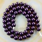 Quality Czech Opaque Glass Pearl Smooth Round Beads 164681012mm