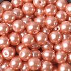 Round Czech Glass Pearl Loose Beads Lot For Jewelry Making 4mm 6mm 8mm 10mm