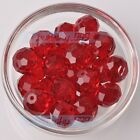 Wholesale Big Crystal Glass Rondelle Faceted Loose Spacer Beads 12141618mm