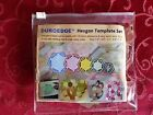 5 Pc Duroedge Quilting Templates Acrylic Pick Trianglehexagoncirclesquare