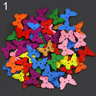50x Mixed Animal 2 Holes Wooden Buttons Sewing Craft Scrapbooking Diy Bluelans