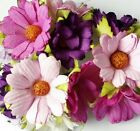 Mix Color Daisy Flower Mulberry Paper Scrapbooking Card Wedding Crafts 25 Pcs.