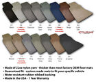 Custom Fit Carpet Floor Mats For 2005-2007 Toyota Tacoma