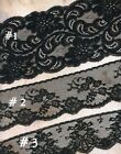 Vintage Black Lace Trim In 3 Styles Sold By The Yard