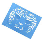 Soft Reusable Face Paint Stencil Body Face Painting Tattoo Make Up Template