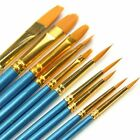 10 Pcs Artist Paint Brushes Set Art Painting Supplies For Acrylic Oil Painting