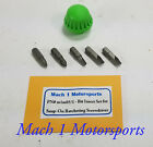 Snap On Ratcheting Screwdriver Cap 5 Replacement Bits Bl Red Org Snap-on Tools