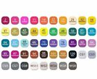 24486080 Colour Set Touch Markers Twin Tip Graphic Art Set Sketch Broad Fine