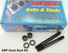 Arp Head Stud Kit 155-4001 Bb Ford 390 428 Fe Series Wfactory Heads Hex Nuts
