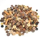 100 Pcs Assorted Round Resin Buttons For Sewing Apparel Diy Crafting Mixed Size