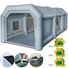 Inflatable Spray Booth Paint W Blowers Tent Car Paint Capacious Filter Systemaa