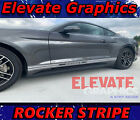 For Ford Mustang Rocker Side Stripes Vinyl Graphics 3m Decals Stickers 2005-2020
