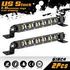 Ultra-slim Led Work Light Bar 62040 Spot Flood Off Road Driving Atv Utv 6500k