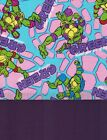 Tmnt Teenage Mutant Turtles Girls Pink Coord Cotton Fabric For 1 Face Mask