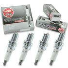 4pcs Mercruiser Hp900 Sc Dry Sump Ngk V-power Racing Spark Plugs Stern Drive Is