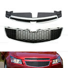 Front Bumper Upper Grille Lower Grille Fit For Chevy Cruze 2011-2014 Ls Lt New