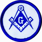 New Freemasonry Embroidered Patches Iron-on