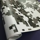 Camo Vinyl Wrap Car Sticker Scooter Motorcycle Decal 4 Colors Digital Camouflage
