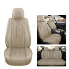Universal Pu Leather Car Seat Covers For 5-seats Car Cushion Waterproof Non-slip