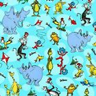 Cute Garfield Turquoise Printed Fabric By The Yard