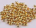 Wholesale Lots 200 Pcs Silver Golden End Crimp Beads Knot Covers Finding 345mm