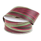 Waterproof Leaf Variegated Ribbon Floral Decor 50 Yards 2 4