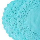 Robin Egg Blue Hand Dyed Lace Paper Doilies 4 6 8 10 12 14 Blue Doily