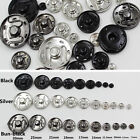 Metal Snap Fasteners Press Button Stud Popper For Diy Sewing Clothes Accessories