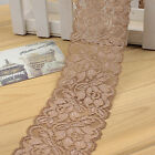 1yd Lace Trims Elastic Band Woven Ribbon Diy Clothes Belt Fabric Sewing Craft