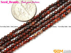 Natural Assorted Round Stones 2mm 3mm 4mm Tiny Seed Spacer Jewelry Making Beads