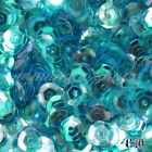 2000 Pcs Round Cuppy Loose 6mm Sequins Paillettes Diy Craft Sewing Decor