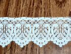 Scalloped Cluny Lace Trim By Yard For Sewing Crafting White Ivory You Choose