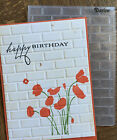 Stampin Up Sizzix Tim Holtz Holiday Embossing Folders Sizzlits