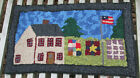 Quilts On The Line Primitive Rug Hooking Kit With 8 Cut Wool Strips