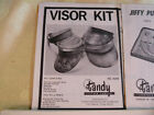 Vintage Tandy Leather Various Kit Instruction Sheets