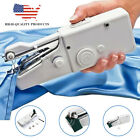 3pcs Handy Mini Portable Electric Tailor Stitch Hand-held Sewing Machine