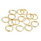 200pcs Open Jump Rings Double Loop Split Rings Connectors For Diy Jewelry Making