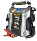 Battery Jump Starter Air Compressor Peak Portable Car Charger Booster 700-1200 A
