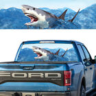 Rear Window Graphic Decal Shark Attack Pick-up Truck Perforated Vinyl Tint