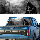 Rear Window Graphic Decal Grim Reaper Forrest Bw Pick-up Truck Tint