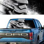 Rear Window Graphic Decal Storm Trooper Bw Pick-up Truck Perforated Vinyl Tint