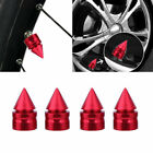 Anti-theft Wheel Tyre Tire Valve Stem Air Dust Cover Screw Caps Car Truck Bike